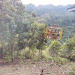 Carble car ride at the loboc eco adventure park