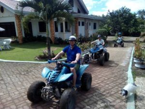 Atv ride at chocolate hills carmen bohol