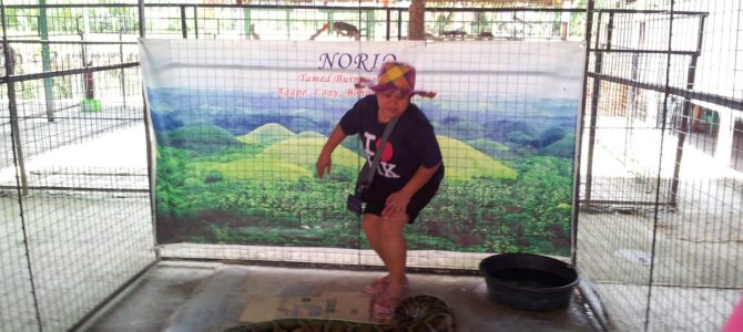 Tour to Bohol Python Sanctuary and Wildlife Park