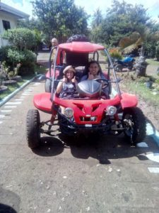 Buggy ride at chocolate hills carmen bohol