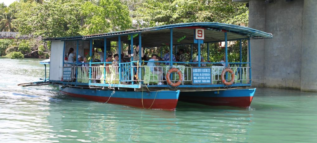 Tour to The Loboc River Floating Restaurant